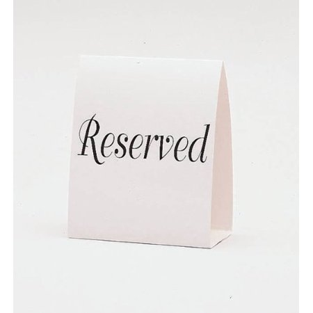 Amscan Classic 1 – 12 Table Number Tent Place Cards (12 Piece), 15-1/2 x  4-5/8