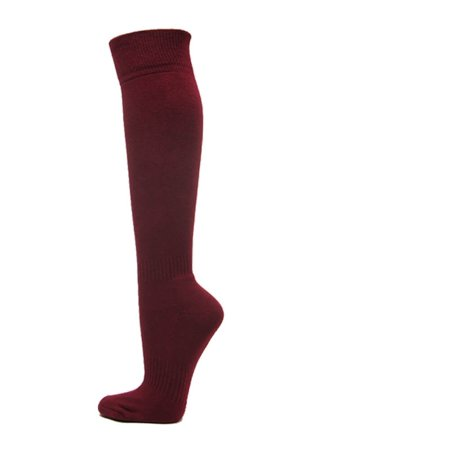6b7f86488 Couver Unisex Solid Youth Kids Knee High Sports Athletic Baseball Softball  Socks - Walmart.com