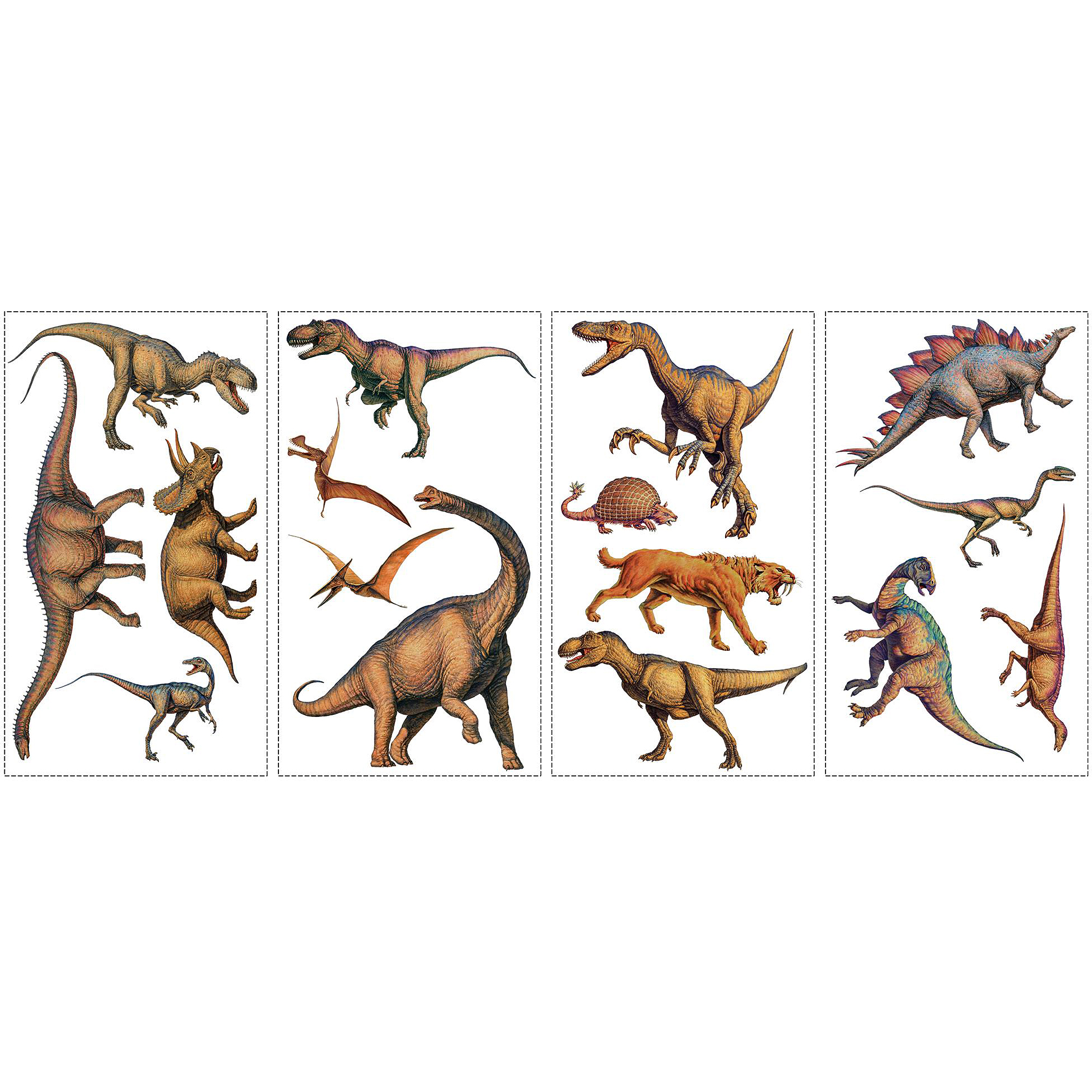 RoomMates Dinosaurs Peel and Stick Wall Decals