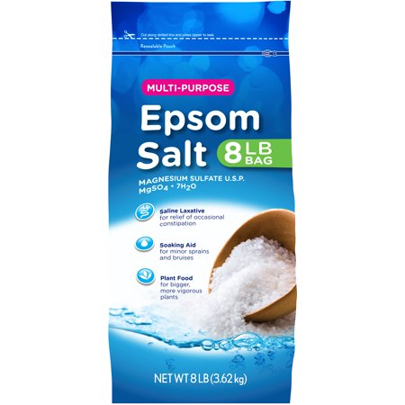 Multi-Purpose Epsom Salt, 8 lbs - Walmart.com