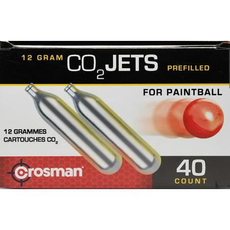 Crosman 12 gram Powerlet CC40PB CO8 40 Count CO2