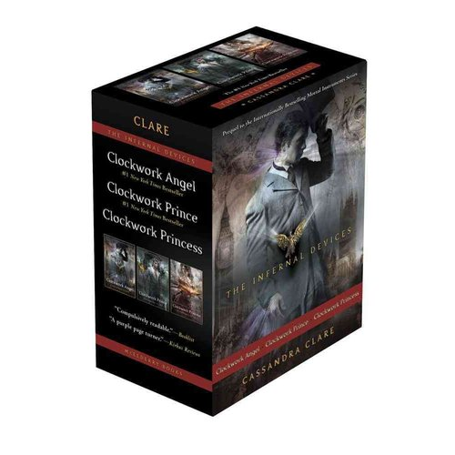 The Infernal Devices: Clockwork Angel / Clockwork Prince / Clockwork Princess