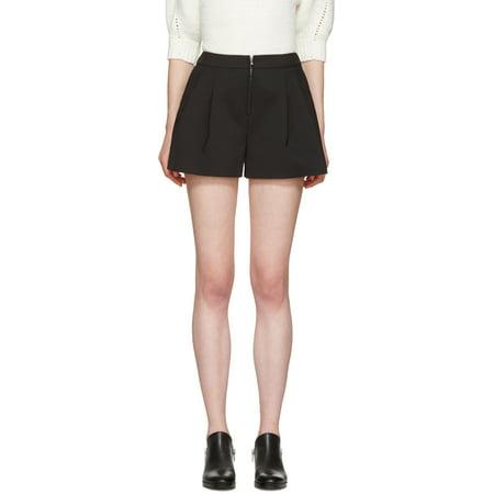 3 1 Phillip Lim Black Cotton Tailored Bloomer Shorts 2