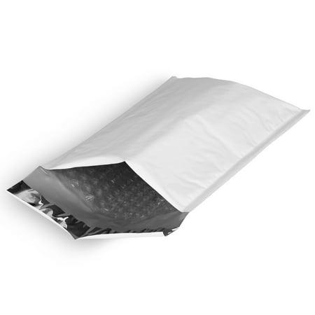 "Fosmon #00 5.5 x 10"" Self-Seal Tear-Proof Bubble Mailer 1 10 25 50 100 250 300"