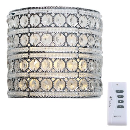 (River of Goods Crystal Glam Monroe Cordless LED 8