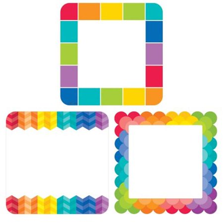 Rainbow Cards 6 in. Cut Outs Painted (Rainbow Cut Out)