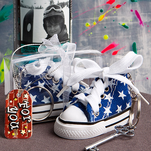 FashionCraft 60 Oh-so-cute blue star print baby sneaker k...