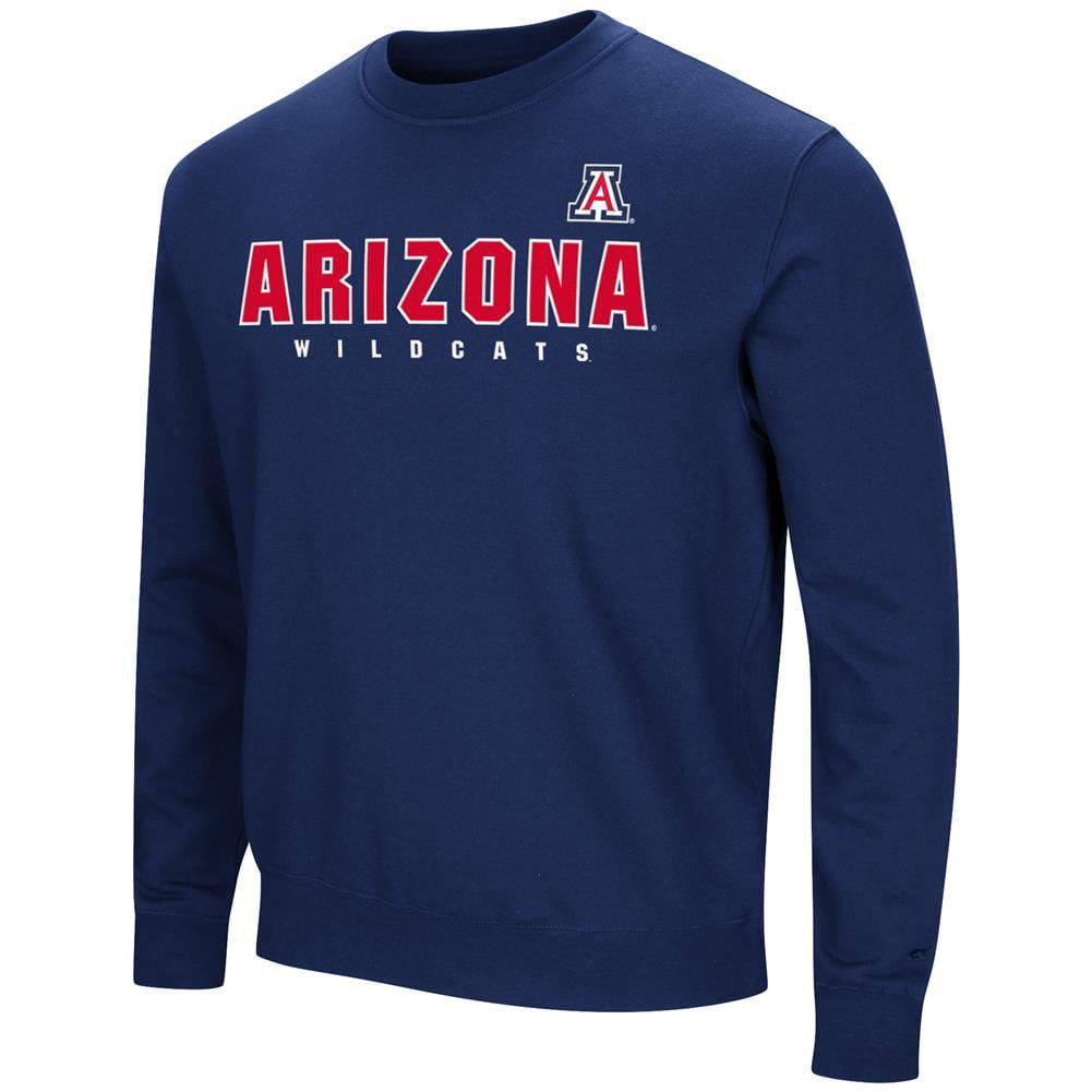 Arizona Wildcats Sweatshirt Playbook Crew Neck Fleece