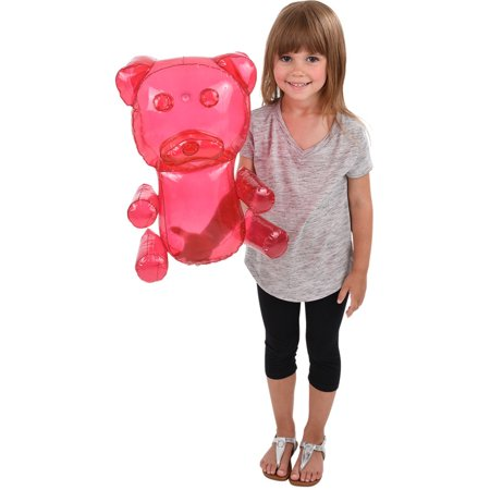 Delicious Candy Large Pink Gummy Bear Animal Inflatable 18