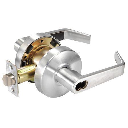 Lever Lockset,Mechanical,Storeroom YALE B-AU4605LN x 626