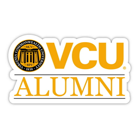 Virginia Commonwealth 4-Inch Laser Cut Alumni Vinyl Decal Sticker Laser Cut Decals