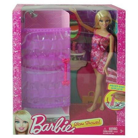 Barbie Glam Shower Playset (Barbie Shower)
