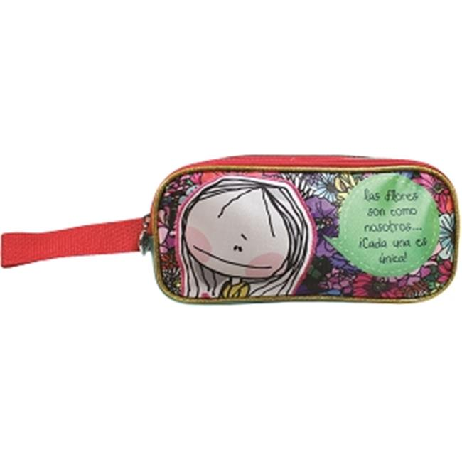 Hablando Sola 2563 Flowers Pencil Case