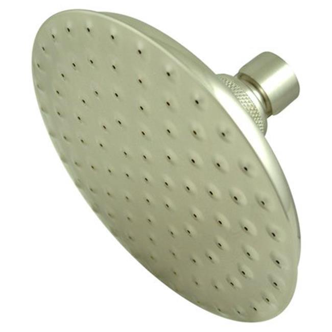5-.5 Inch Diameter Brass Shower Head - Satin Nickel