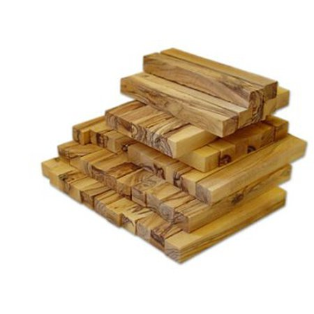Holy Land Imports Bethlehem Olive Wood Pen Blank, 1 Piece