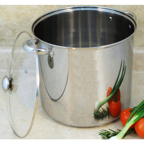 Cook Pro 20-Quart Stainless Steel Stockpot