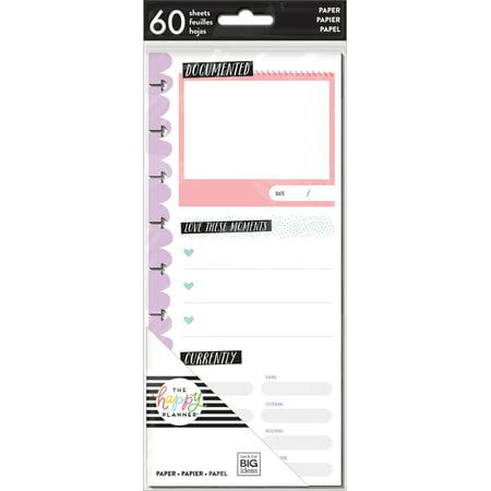 Happy Planner Medium Half Sheet Fill Paper