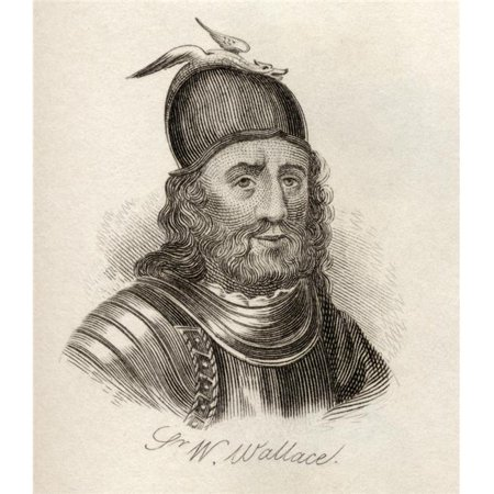 Posterazzi DPI1855896LARGE Sir William Wallace Circa 1272-76 To 1305 Scottish Knight Landowner Poster Print, Large - 26 x 30 - image 1 de 1