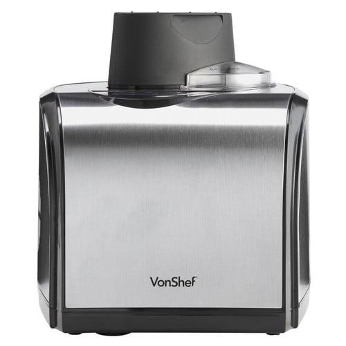 VonShef 1.6-qt. Fully Automatic Professional Ice Cream Maker