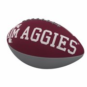 TX A&M Aggies Combo Logo Junior-Size Rubber Football