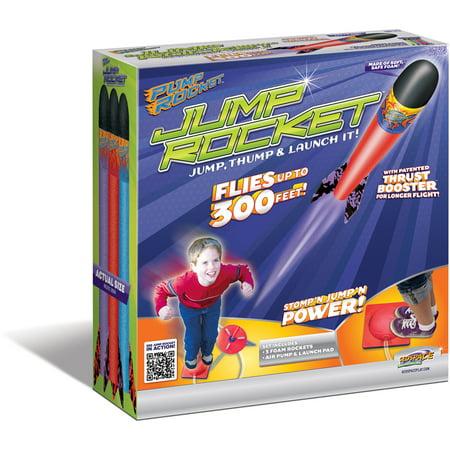 Multiple Rocket Launcher - Original Geospace Jump Rocket - Launcher and 3 Rocket Set