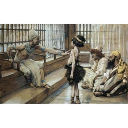 Posterazzi SAL999465 Joseph Sold Into Egypt James J. Tissot 1836-1902 French Jewish Museum New York Poster Print - 18 x 24 in. - image 1 de 1