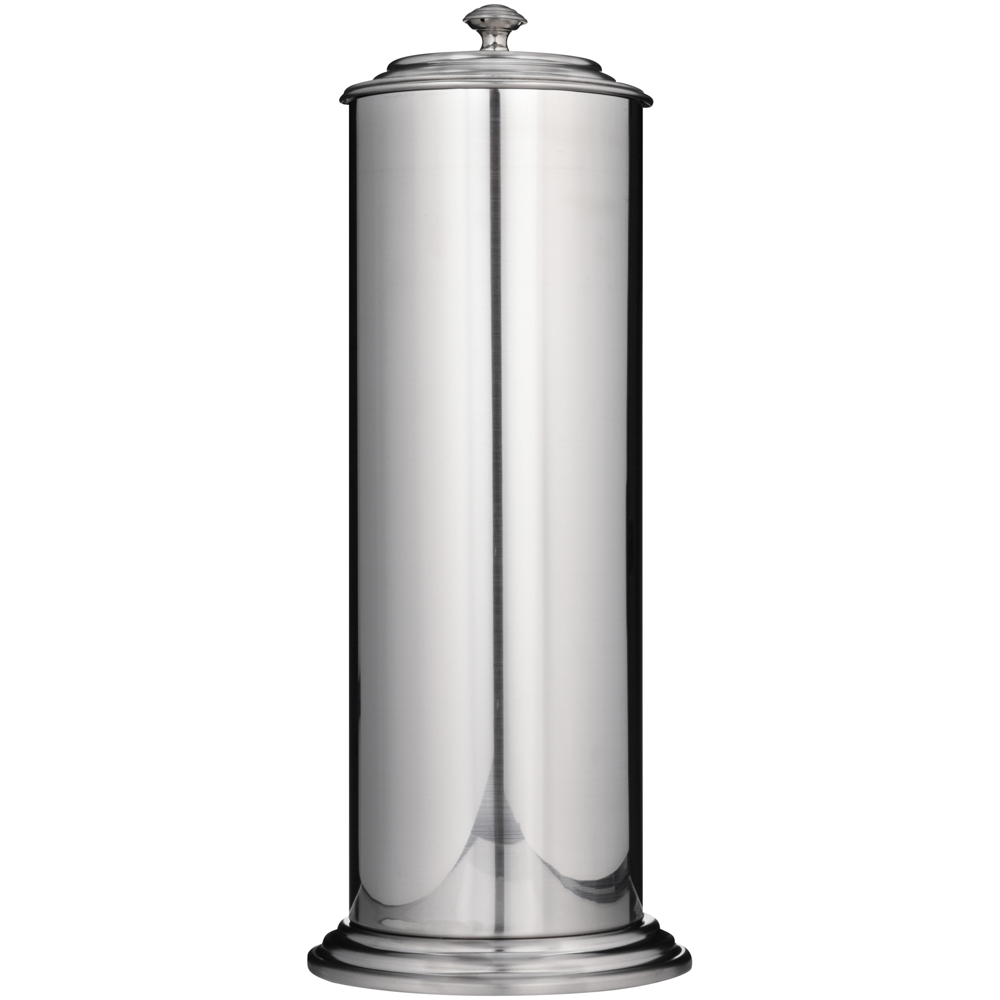Exquisite® Ashton Collection Brushed Nickel Extra Toilet Paper Canister