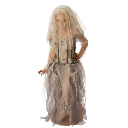Girls Ghost Bride Costume