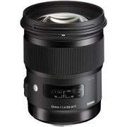 Sigma 50mm f/1.4 ART DG HSM Lens (for Sony Alpha E-Mount Cameras)