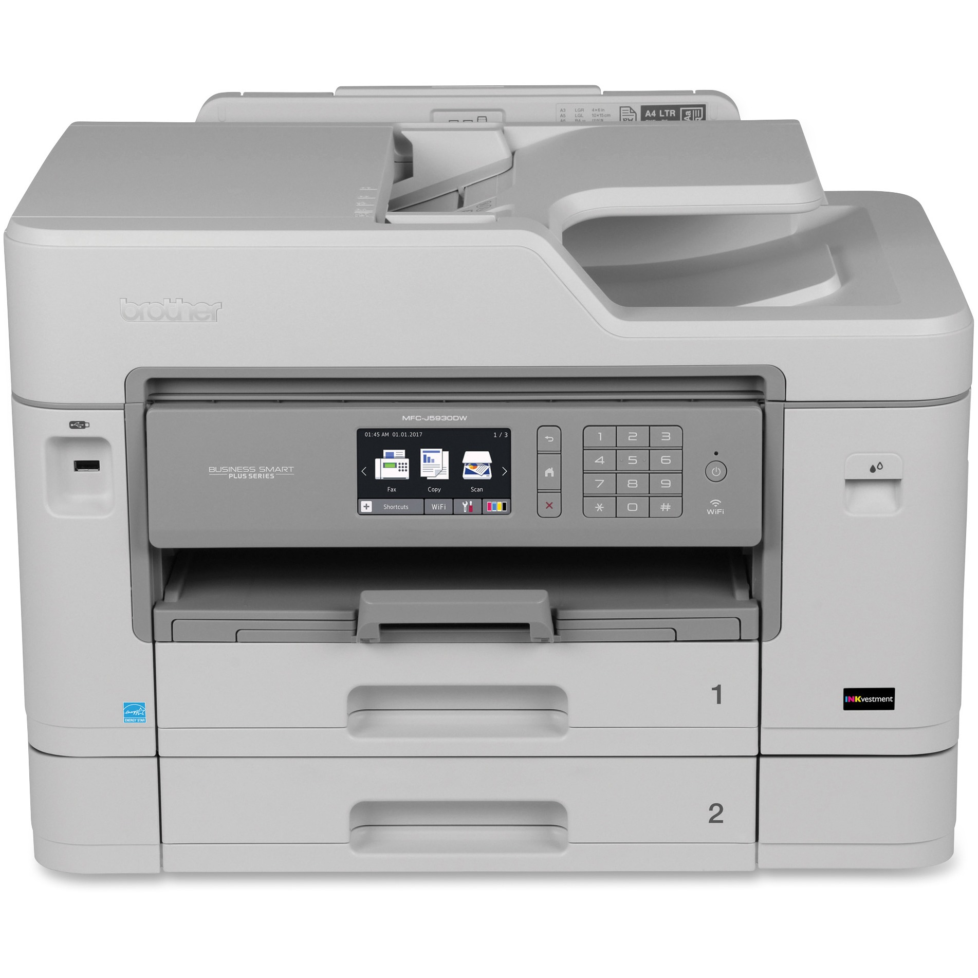 Brother Business Smart Plus MFC-J5930DW Color Inkjet All-in-One Printer Series by Brother