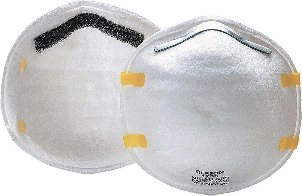 Jackson 64230 Disposable Particulate Respirator, Universal, N95, White by Jackson Safety