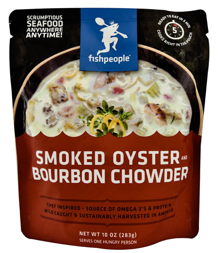 Fishpeople Smoked Oyster and Bourbon Chowder -- 10 oz pack of 1 by
