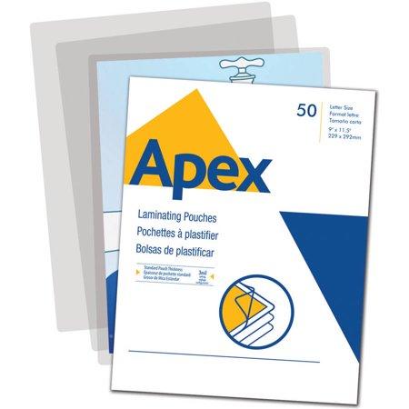 Apex 50 Laminating Pouches Letter Size