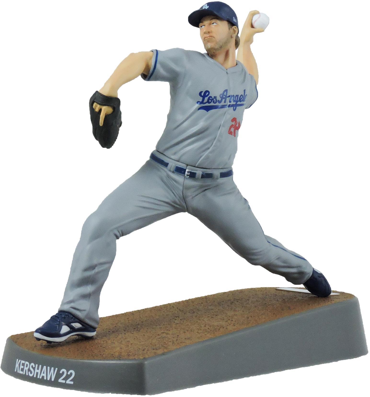 "Clayton Kershaw Los Angeles Dodgers Imports Dragon 6"" Player Replica Figurine"