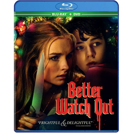 Better Watch Out (Blu-ray + DVD) - Horror Movies Watch Halloween