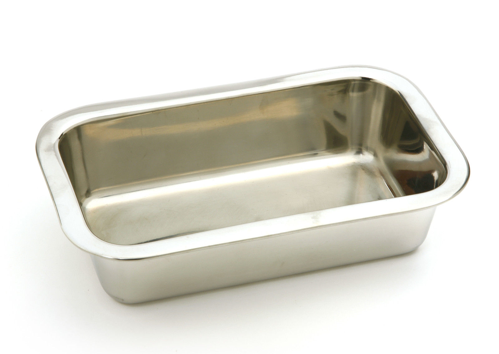 Pack of 12 Norpro Stainless Steel Loaf Pan with Mirror Finish 8 ½ x 4 ½ Inches
