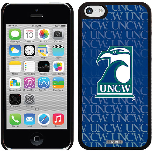 UNCW Repeating Design on iPhone 5c Thinshield Snap-On Case by Coveroo