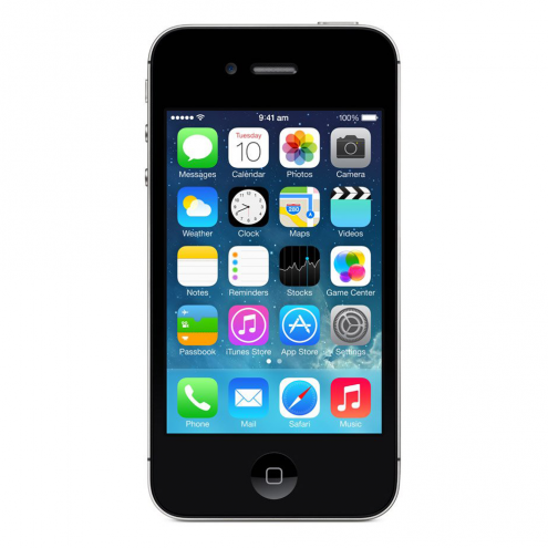 used iphone 4s refurbished apple iphone 4s at amp t black 8gb mf257ll a 13208