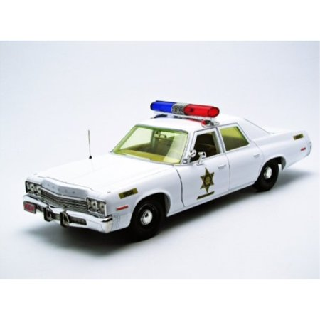 Dukes of Hazzard Roscoe's Sheriff Police Car 1:18 Scale Diecast