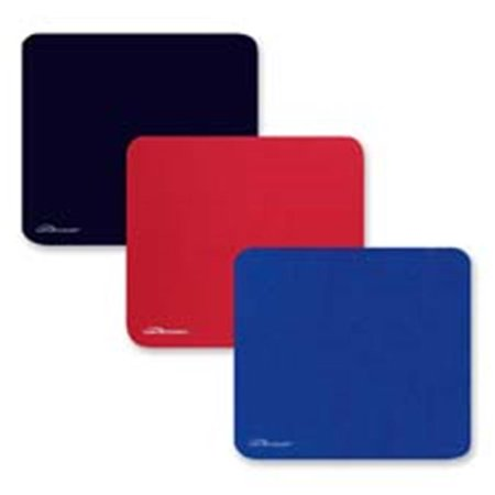 - Economy Mouse Pad, Nonskid Rubber Base, 9.5 in. x 8.5 in., Blue