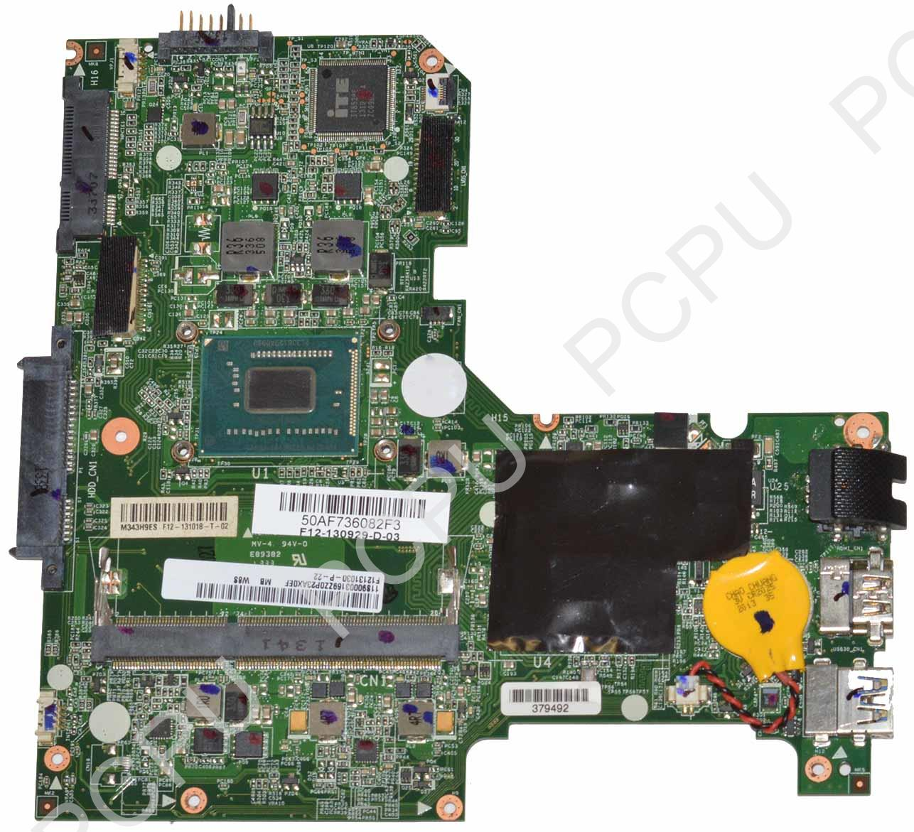 90003169 Lenovo IdeaPad S210 Touch Laptop Motherboard w/ Intel Pentium Dual-Core 2127U 1.9GHz CPU