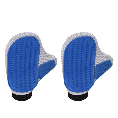 Dot Mitten - VicTsing Pet Grooming Mittens Brush, Deshedding Tool, Gloves for Removing Pet Shedding Hair, Pet Massage and Bathing Brush or Comb, for Dogs, Cats, Horses