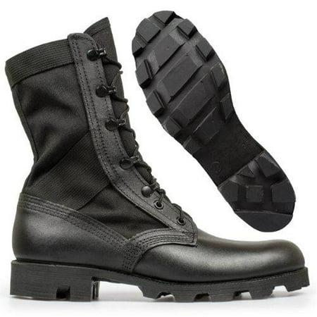 Altama Footwear Men's Jungle Boot 6853 Boots,Black Leather / Cordura Nylon,12 M US