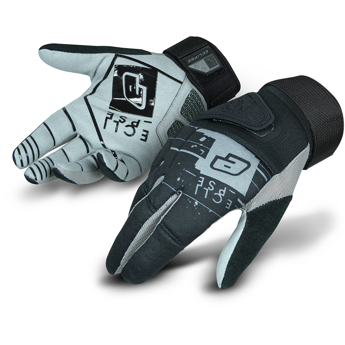 Planet Eclipse Full Finger Gloves - Gen4 - Black