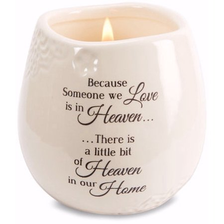 100% Eco Soy Candle - Pavilion Gift Company-Heaven In Our Home - 8 oz - 100% Soy Wax Candle Scent: Tranquility