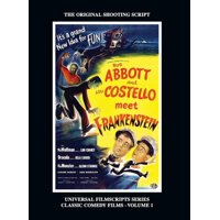 Abbott and Costello Meet Frankenstein : (Universal Filmscripts Series Classic Comedies, Vol 1) (hardback) (Hardcover)