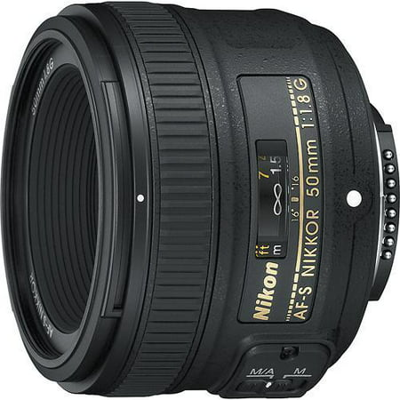 Nikon AF-S NIKKOR 50mm f/1.8G Fixed Focal Length (Best Wildlife Lens For Nikon D500)