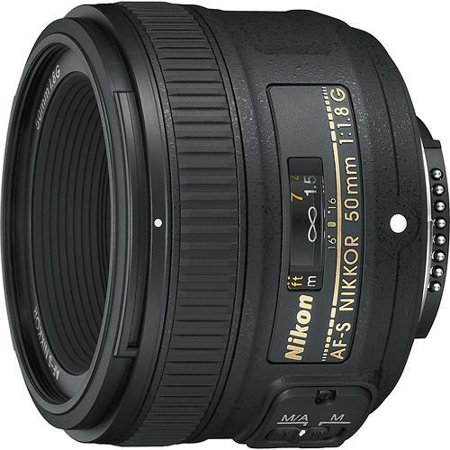 - Nikon AF-S NIKKOR 50mm f/1.8G Fixed Focal Length Lens