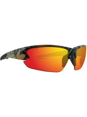 08c960dae90 Product Image Epoch 4 Sport Golf Motorcycle Riding Sunglasses Camo Black  with Red Mirror Polarized Lens. Epoch Eyewear