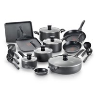 T-Fal Easy Care Thermo-Spot 20 Piece Non-Stick Dishwasher Safe Cookware Set